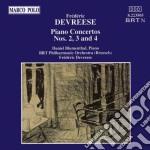 Devreese - Concerto X Pf N.2, 3, 4  - Devreese Frederic Dir  /daniel Blumenthal Pf, Brt Philharmonic Orchestra, Brusels cd musicale di DEVREESE