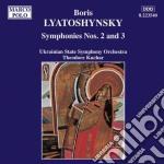 Lyatoshynsky Boris - Sinfonia N.2 Op.26, N.3 Op.50 cd musicale di Boris Lyatoshynsky