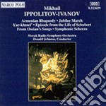 Ippolitov-ivanov Mikhail - Yar-khmel' Op.1, Scherzo Sinfonico Op.2, 3 Tableaux Musicali Da Ossian, Marcia D cd musicale di Ivanov Ippolitov