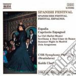 Elgar Edward - Spanish Festival cd musicale di Edward Elgar