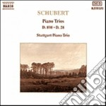 Schubert Franz - Trio X Pf E Archi In Sib Magg. Op.99 D.898, Trio X Pf E Archi In Sib Magg. D.28 cd musicale di Franz Schubert