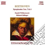 Beethoven - Symph.nos 7-4 cd musicale di Beethoven ludwig van