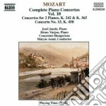 CONCERTI X PF VOL.10 (INTEGRALE): CONCER cd musicale di Wolfgang Amadeus Mozart