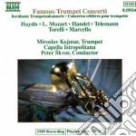 FAMOUS TRUMPET CONCERTI cd musicale