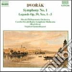 Dvorak Antonin - Sinfonia N.1, Legends N.1 > N.5 Op.59 cd musicale di Antonin Dvorak