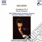 Brahms Johannes - Sinfonia N.1 Op.68, Variazioni Su Un Tema Di Haydn Op.56a cd musicale di Johannes Brahms