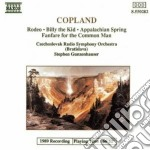 Copland Aaron - Rodeo, Billy The Kid, Appalachian Spring, Fanfare For The Common Man cd musicale di Aaron Copland