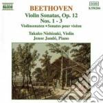 Beethoven Ludwig Van - Sonata X Vl E Pf N.1, N.2, N.3 Op.12 cd musicale di Beethoven ludwig van