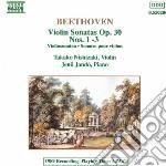 Beethoven Ludwig Van - Sonata X Vl E Pf N.1, N.2, N.3 Op.30 cd musicale di Jeno Jando