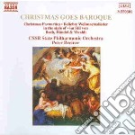 CHRISTMAS GOES BAROQUE cd musicale di Peter Breiner