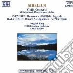 Sibelius Jean - Concerto X Vl Op.47 cd musicale di Adrian Leaper