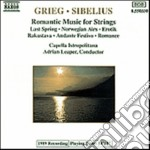 Grieg Edvard - Melodia N.1, N.2 Op.53, Erotik, 2 Pezzielegiaci Op.34 cd musicale di Edvard Grieg
