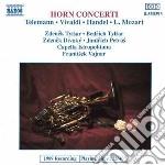 Telemann Georg Philip - Horn Concertos cd musicale di Telemann georg phili