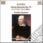 Haydn Franz Joseph - Quartetto X Archi N.1, N.2, N.3.