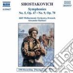 Sciostakovic Dmitri - Sinfonia N.5 Op.47, N.9 Op.70 cd musicale di Dmitri Sciostakovic