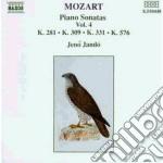 SONATE X PF VOL.4 (INTEGRALE): SONATA K cd musicale di Wolfgang Amadeus Mozart