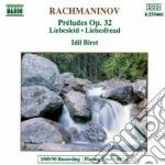 Rachmaninov Sergei - Preludio N.1 > N.13 Op.32 cd musicale di Sergei Rachmaninov