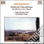 Beethoven Ludwig Van - Sonata Per Violoncello N.3, N.4, N.5 Op.69 cd musicale di Beethoven ludwig van