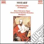 SONATA DA CHIESA N.1 > N.17 (INTEGRALE) cd musicale di Wolfgang Amadeus Mozart