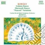 Kodaly Zoltan - Danze Di Galanta, Danze Di Marossek, Variazioni Su Un Canto Popolare Ungherese cd musicale di Adrian Leaper