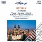 Dvorak Antonin - Ouvertures: Vanda Op.25, In Nature's Realm Op.91, Carnival Op.92, Othello Op.93, cd musicale di Antonin Dvorak