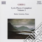 PEZZI LIRICI (INTEGRALE) VOL.3: SELEZION cd musicale di Edvard Grieg