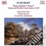 Schubert Franz - Quintetto X Pf E Archi D 667