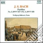 Bach J.S. - Partita N.3 Bwv 827, N.4 Bwv 828 cd musicale di Wolfgang Rubsam