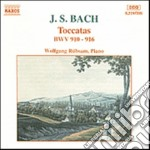 Bach J.S. - Toccate Bwv 910-916 cd musicale di Johann Sebastian Bach