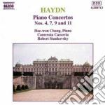 Haydn Franz Joseph - Concerto X Pf.n.4, 7, 9, 11 H.xviii cd musicale di Haydn franz joseph