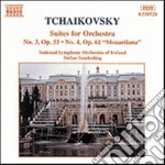 Tchaikovsky - Suite N.3 Op.55, N.4 Op.61 Mozartiana - National Symphony Orchestra Of Ireland cd musicale di Ciaikovski pyotr il'