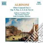 CONCERTI PER OBOE (INTEGRALE) VOL.1 cd musicale di Albinoni tomaso giov