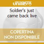 Soldier's just came back live cd musicale di Loudness