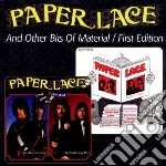 And other bits of material/first edition cd musicale di Lace Paper