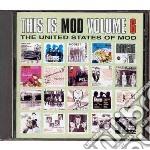 THIS IS MOD VOL.6                         cd musicale di Artisti Vari