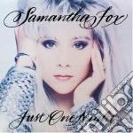 Just one night cd musicale di Samantha Fox