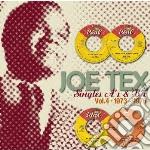 Tex, Joe - Singles A S & B S Vol. 4 cd musicale di Joe Tex