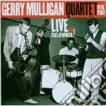 ON THE ROAD-LIVE IN CALIFORNIA(FEAT.BAKE cd musicale di Gerry quar Mulligan