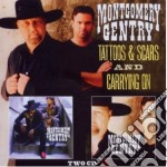 Tattoos & scars cd musicale di Gentry Montgomery