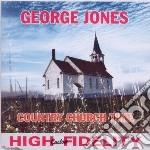 Glenn Jones - Country Church Time cd musicale di George Jones