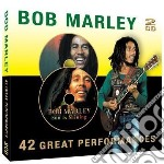 Bob Marley - 42 Great Performances cd musicale di Bob Marley