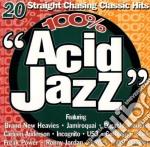 Various - 100% Acid Jazz cd musicale di ARTISTI VARI