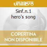 Sinf.n.1 hero's song cd musicale di Antonin Dvorak