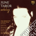June Tabor - Anthology cd musicale di TABOR JUNE