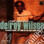 COOL OPERATOR cd musicale di WILSON DELROY