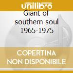 Giant of southern soul 1965-1975 cd musicale di O.v. Wright