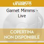 LIVE cd musicale di MIMMS GARNET