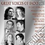 GREAT VOICES OF FADO cd musicale di ARTISTI VARI