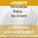 Shrivastav Baluji - Re-Orient cd musicale di Baluji Shrivastav