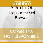 A BOXFUL OF TREASURES/5CD BOXSET cd musicale di DENNY SANDY